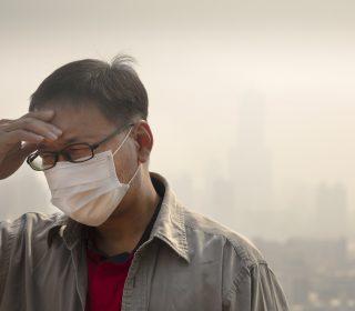 légszennyezés Kínában